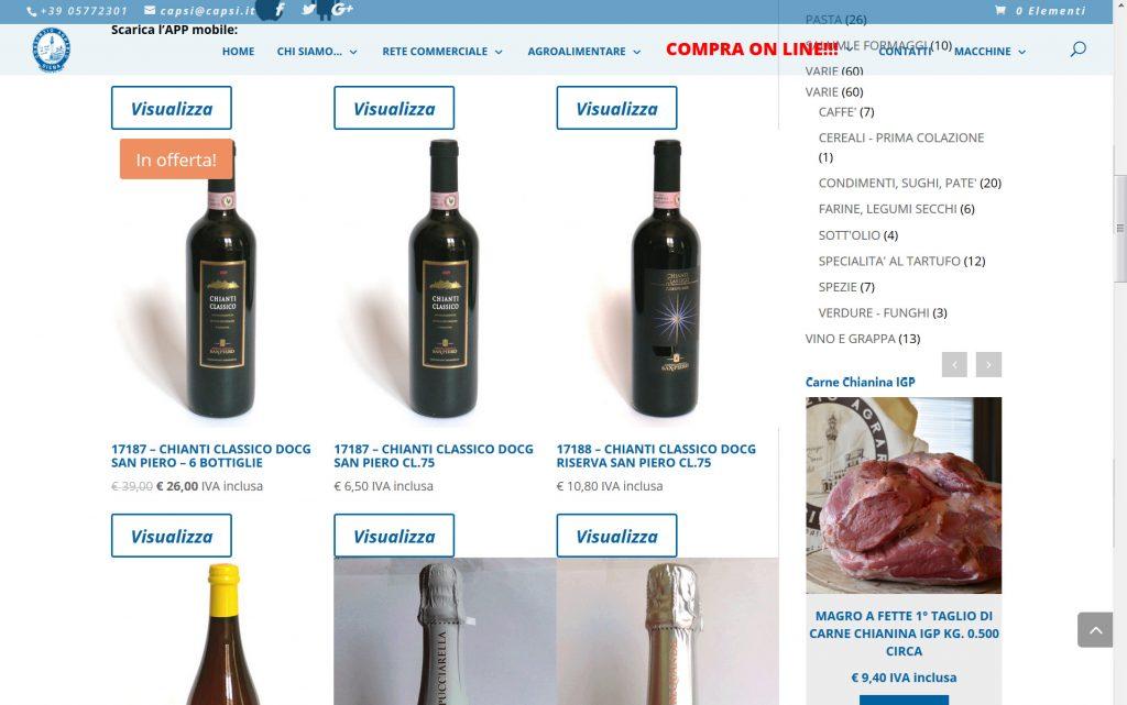 Consorzio Agrario Siena E-commerce