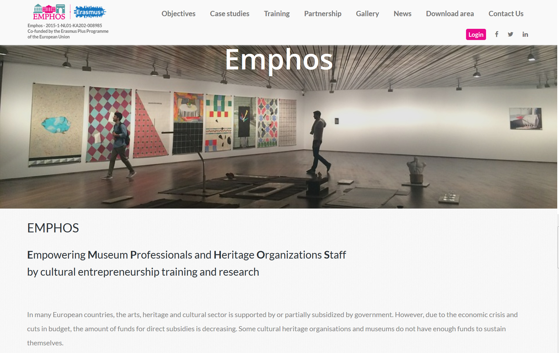 Emphosproject.eu E-Learning Europeo