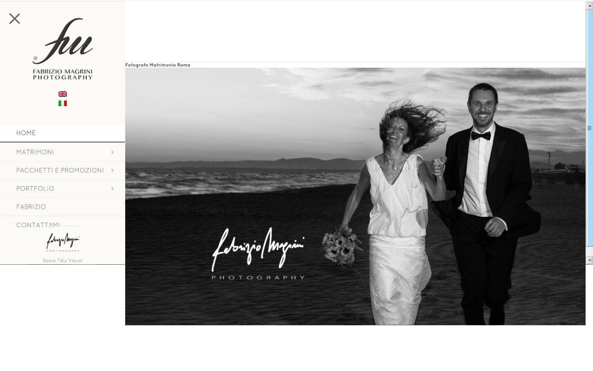 Fotografo di matrimoni a Roma e resto Italia