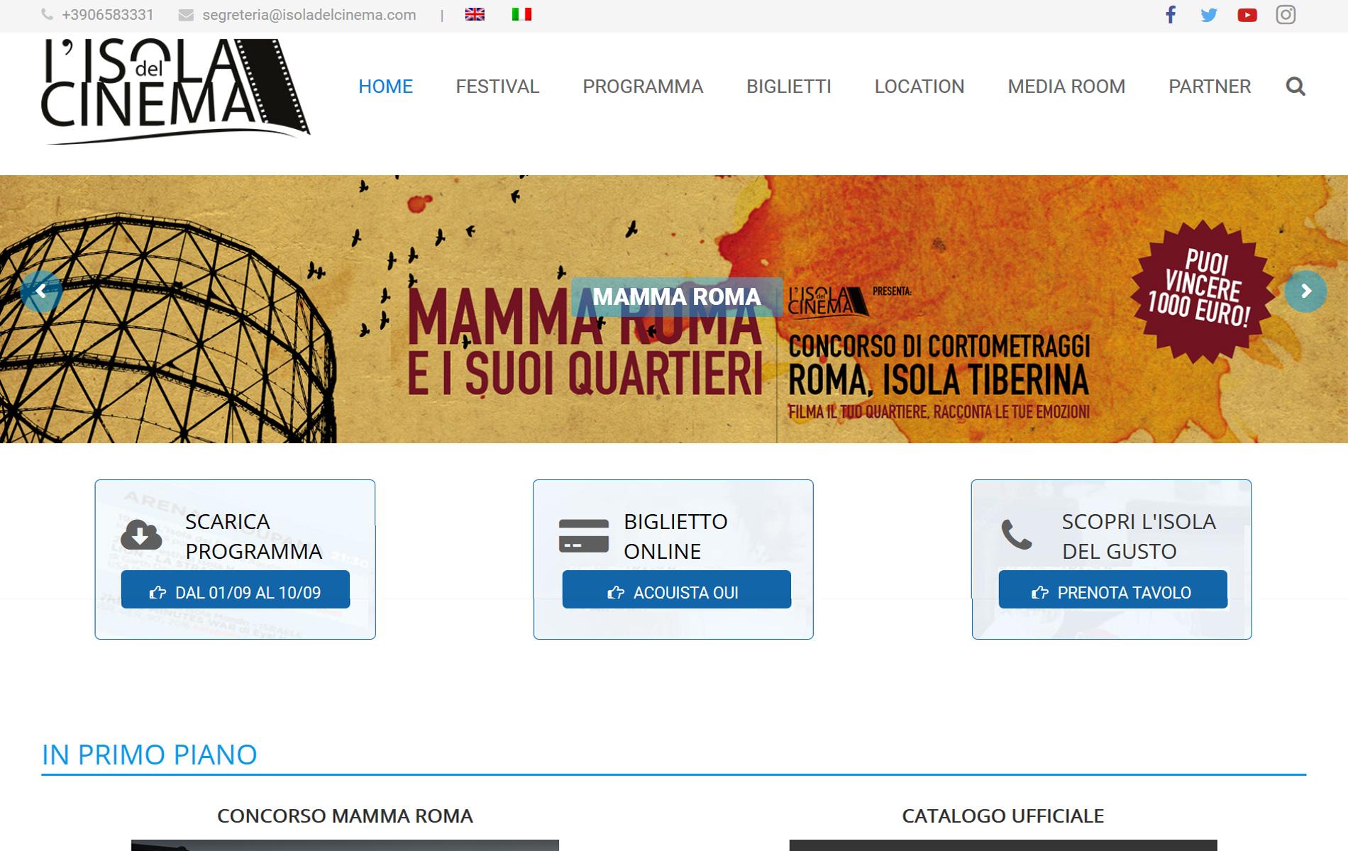Isoladelcinema.com il Cinema a Roma