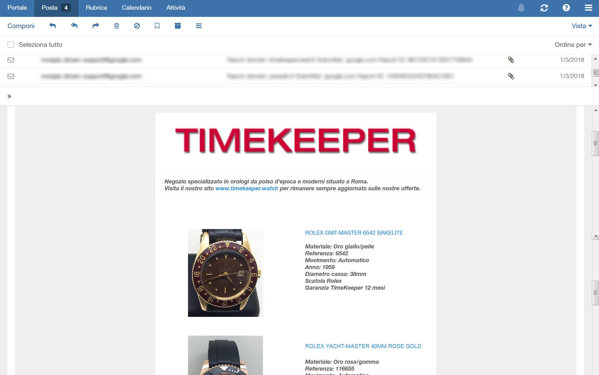 Newsletter-Timekeeper.watch